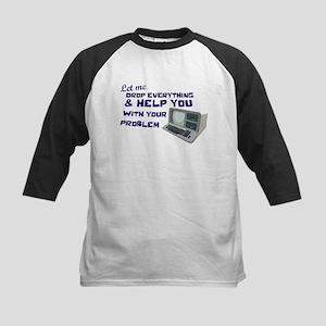 Drop Everything & Help You Kids Baseball Jersey