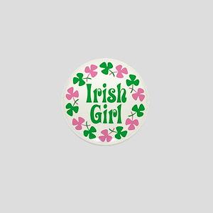 Irish Girl Mini Button