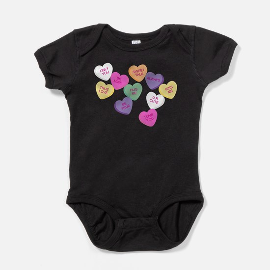 Candy Hearts! Infant Bodysuit Body Suit