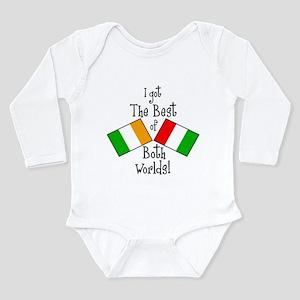 """Irish-Italian Kid"" Infant Bodysuit Body Suit"