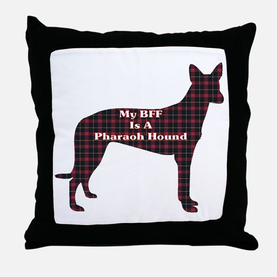 BFF Pharaoh Hound Throw Pillow