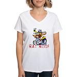 Pablos Rat Women's V-Neck T-Shirt