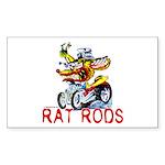 Pablos Rat Rectangle Sticker