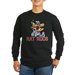 Pablos Rat Long Sleeve Dark T-Shirt