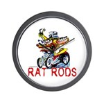 Pablos Rat Wall Clock