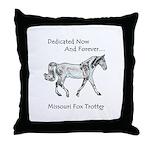 Missouri Fox Trotter Throw Pillow