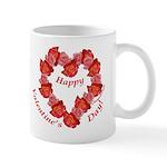 Rose Wreath, Valentine Mug