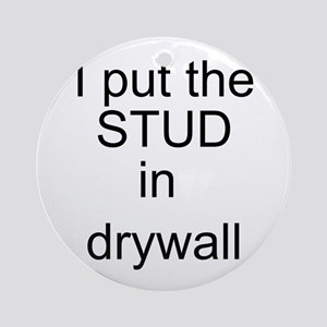 Stud in drywall Ornament (Round)