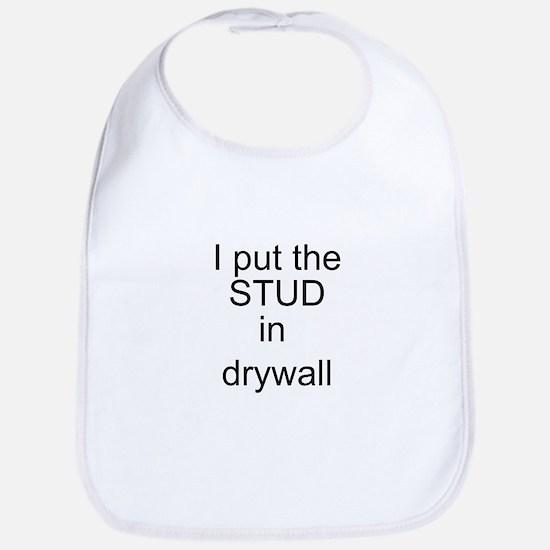 Stud in drywall Bib