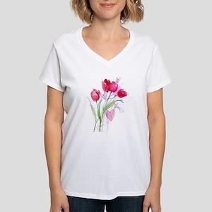 Tulip2 Ash Grey T-Shirt