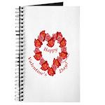 Rose Wreath, Valentine Journal