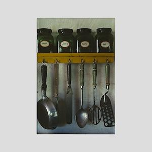 Kitchen Gear Rectangle Magnet