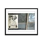 Framed Panel Print Vintage Photo