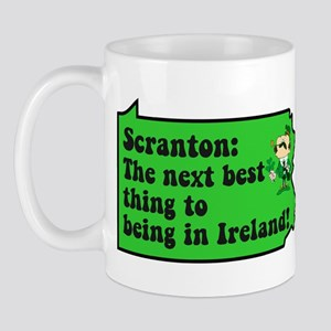 Scranton St Patricks Day Parade Mug