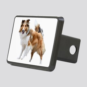 Just Like Lassie Rectangular Hitch Cover