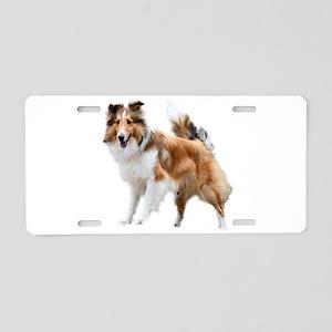 Just Like Lassie Aluminum License Plate