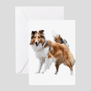Just Like Lassie Greeting Card
