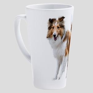 Just Like Lassie 17 oz Latte Mug