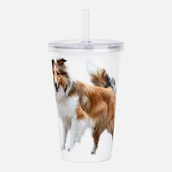 Just Like Lassie Acrylic Double-wall Tumbler