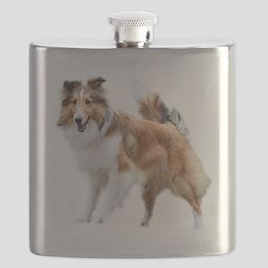 Just Like Lassie Flask