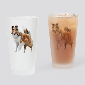 Just Like Lassie Drinking Glass