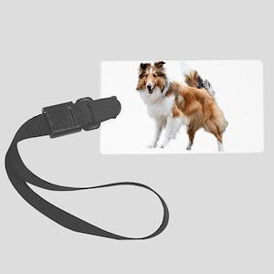Just Like Lassie Large Luggage Tag