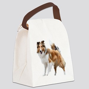 Just Like Lassie Canvas Lunch Bag