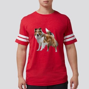 Just Like Lassie Mens Football Shirt