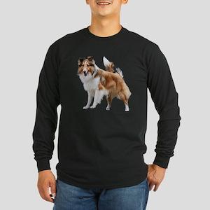 Just Like Lassie Long Sleeve Dark T-Shirt
