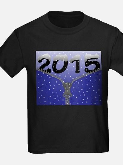 2015 Snow Zipper T-Shirt