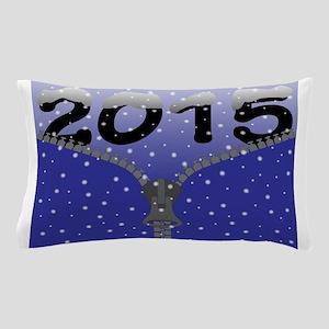 2015 Snow Zipper Pillow Case