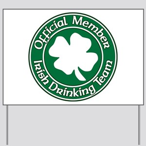 Official Member of the Irish Drinking Team Yard Si