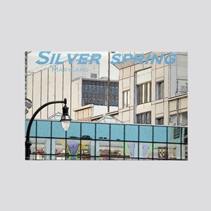 Silver Spring Rectangle Magnet (10 pack)