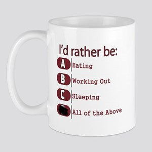 I Rather Be Mug
