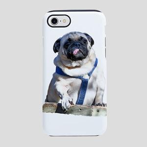 Strange Pug iPhone 8/7 Tough Case