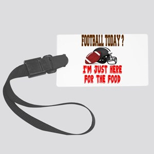 Football Today Luggage Tag