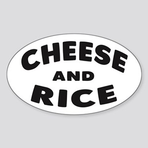 Cheese and Rice Sticker