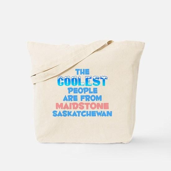 Coolest: Maidstone, SK Tote Bag