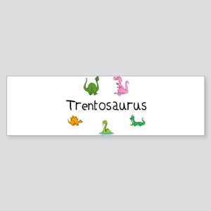 Trentosaurus Bumper Sticker