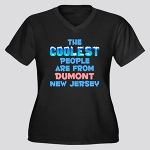 Coolest: Dumont, NJ Women's Plus Size V-Neck Dark