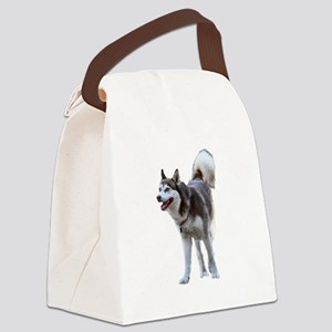 Young Husky Canvas Lunch Bag