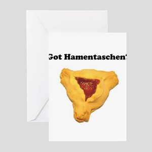 Got Hamentaschen? Greeting Cards