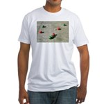 Official American Bocce Club Fitted T-Shirt