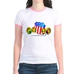 Official American Bocce Club Jr. Ringer T-Shirt