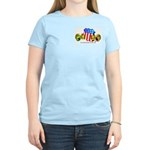 Official American Bocce Club Women's Pink T-Shirt