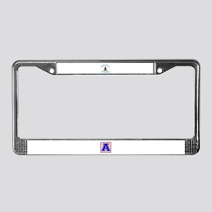 Cat Of Arms Venezuela Country License Plate Frame