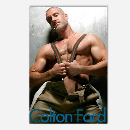 Colton Ford Postcards (Package of 8)