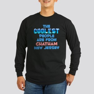Coolest: Chatham, NJ Long Sleeve Dark T-Shirt