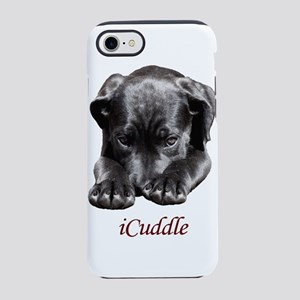 Adorable Black Puppy Dog iPhone 8/7 Tough Case