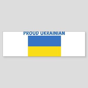 PROUD UKRAINIAN Bumper Sticker